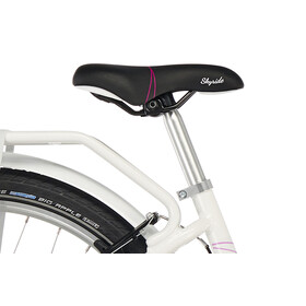 Vélo Puky Skyride Light Alu - Pour enfants - 24'', 7 vitesses - Blanc
